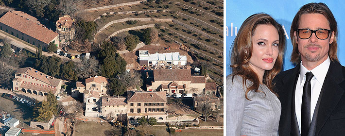 CELEBDIGS EXCLUSIVE - Brad Pitt And Angelina Jolie Expand Chateau Miraval Property In France