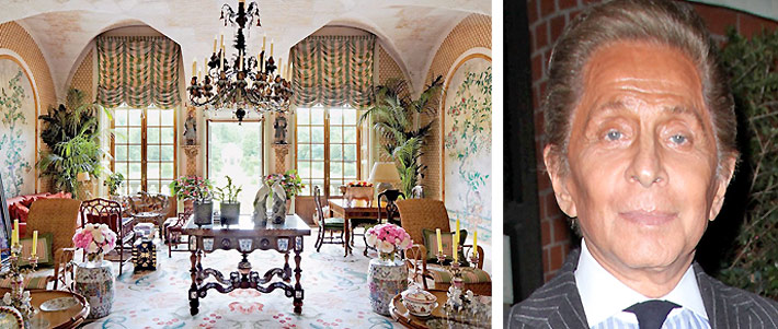     Valentino Shows Off Gorgeous Asian-Inspired French Castle