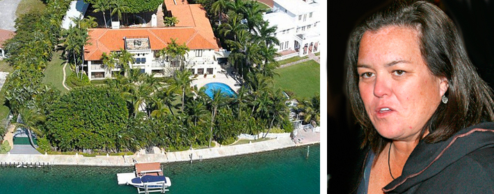 Rosie O'Donnell Reportedly Sells Miami Mansion For $12.675 Million