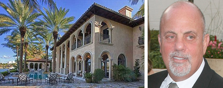 Billy Joel Sells His Waterfront Miami Mansion For $14 Million