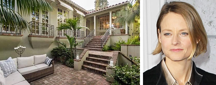 Jodie Foster Lists Hollywood Hills Home Of 20 Years For $6.4 Million