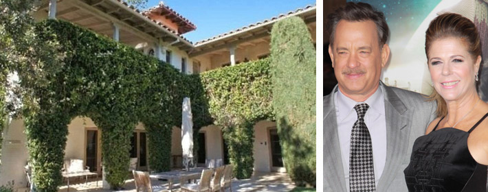 Tom Hanks Puts Los Angeles Marital Mansion On The Market For $5.25 Million