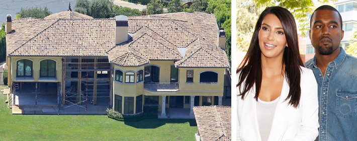 Kim Kardashian And Kanye West Quietly List Their Bel-Air Mansion For $11 Million