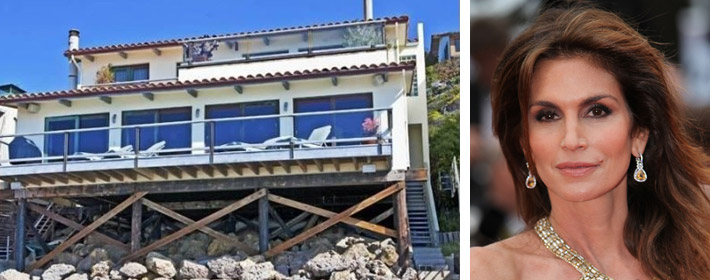 Cindy Crawford Lists Malibu Home For Rent For $19K A Month