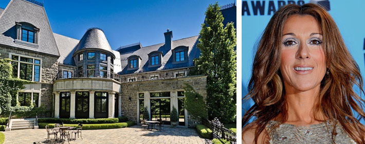 Celine Dion Lists Montreal Mansion For $28 Million