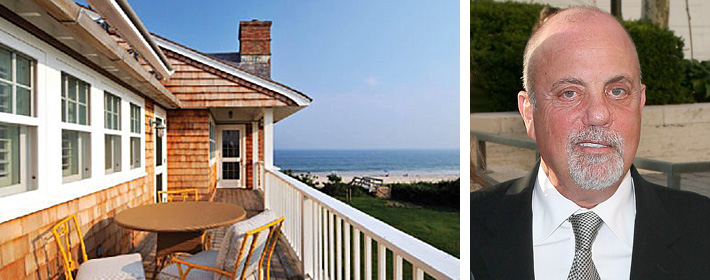 Billy Joel Re-Lists Hamptons Mansion For $23.5 Million