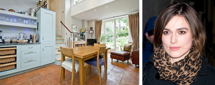 Keira Knightley Buys $6.2 Million Townhouse In London