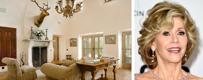Jane Fonda Lists Her New Mexico Ranch For $19.5 Million
