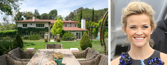 Peek Inside Reese Witherspoon's $10.5 Million Brentwood Mansion