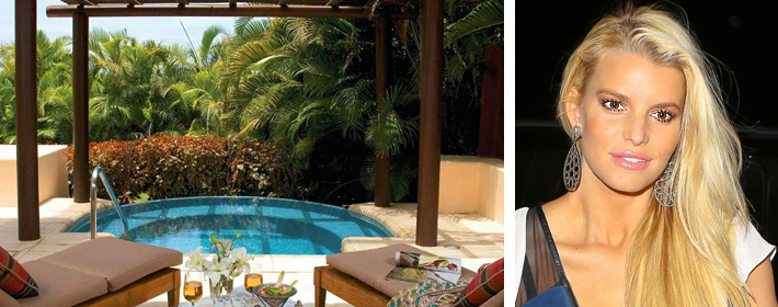 Check Out The Stunning Resort Where Jessica Simpson And Eric Johnson Honeymooned