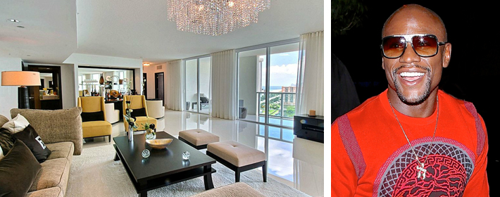 Floyd Mayweather Selling Miami Condo For $2.6 Million