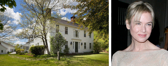 Renee Zellweger Lists Connecticut Country Farm Estate For $1.6 Million
