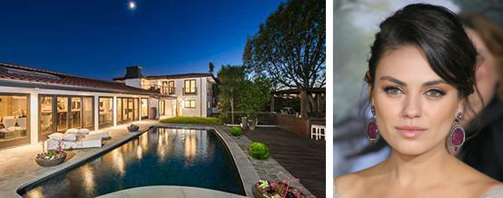 Mila Kunis Selling L.A. Home For $3.99 Million