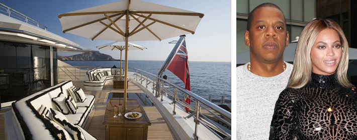 Check Out The Luxury Yacht Beyonce And Jay Z Are Renting For $1.1 Million A Week