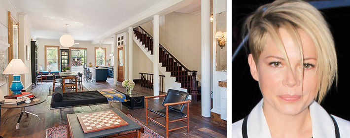 Michelle Williams Lists Brooklyn Home She Shared With Heath Ledger For $7.5 Million