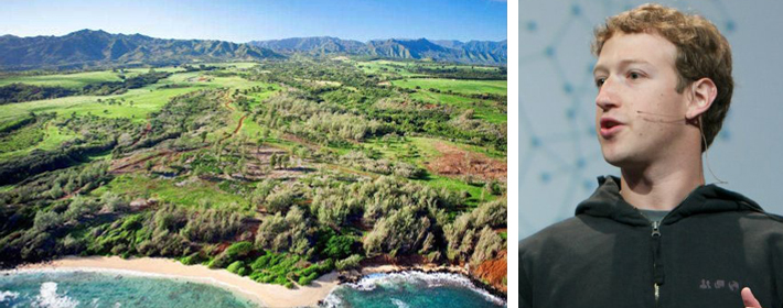Mark Zuckerberg Drops $115 Million On 750 Acres Of Land In Kauai