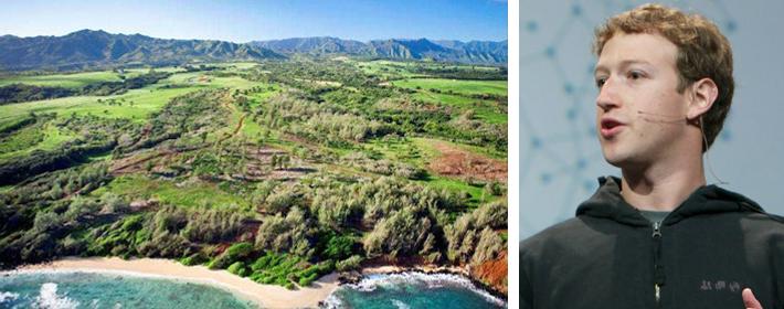 Mark Zuckerberg Drops $115 Million On 750 Acres Of Land In Kauai