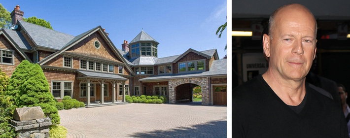 Bruce Willis Buys $9 Million New York Country Home