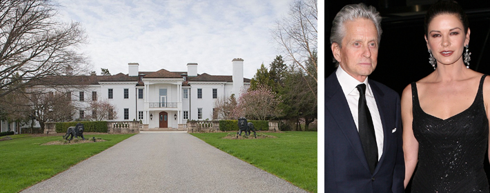 Michael Douglas And Catherine Zeta-Jones Buy $11.25 Million New York Country Estate