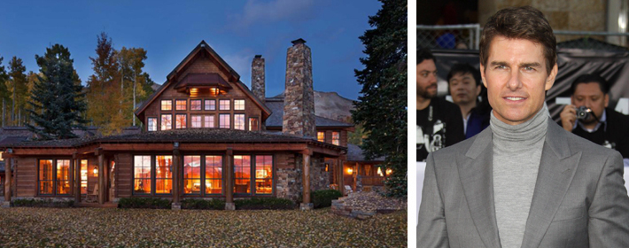 Tom Cruise Lists Telluride Mountain Estate For $59 Million