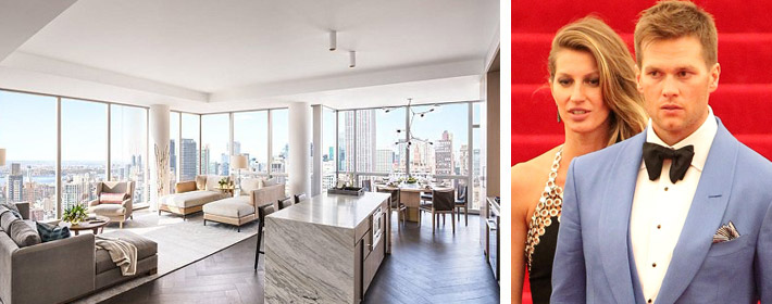 Tom Brady And Gisele Bundchen's NYC Penthouse Hits Rental Market For $40,000 A Month