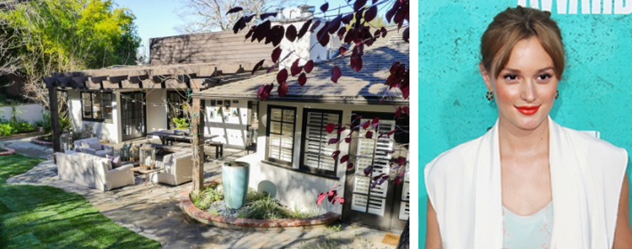 Leighton Meester Lists Encino Pad For $2.35 Million