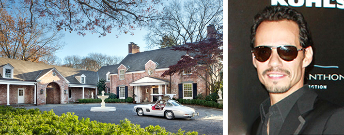 Marc Anthony Lists Long Island Mansion For $12 Million