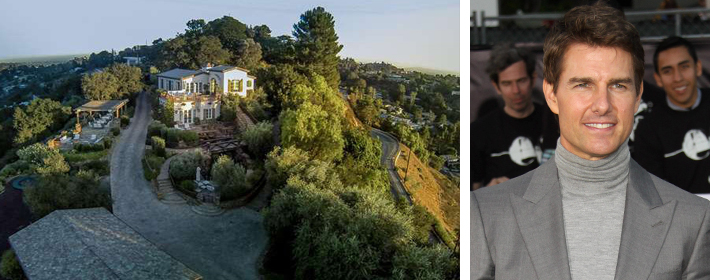 Tom Cruise's Hollywood Compound Hits The Market For $13 Million