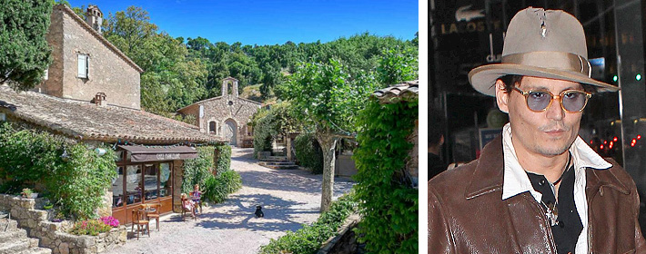 Johnny Depp Lists Massive French Estate For $25 Million
