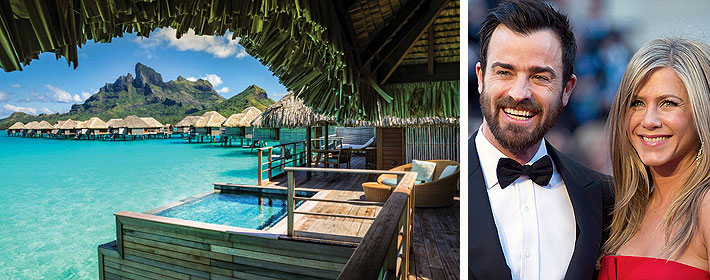 Jennifer Aniston And Justin Theroux's Honeymoon Spot Revealed!
