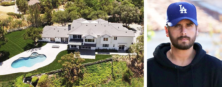 Scott Disick Drops The Price On His Hidden Hills Pad By $1 Million
