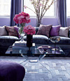 Metallics, Tufted Sofa  Add A Touch Of Interior Glam