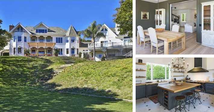 Elsa Pataky mansion in Malibu