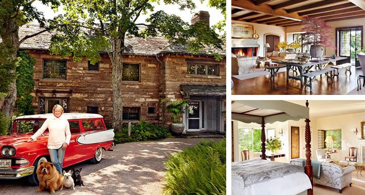Celeb Digs Martha Stewart Shows Off Stunning Maine Summer Home In