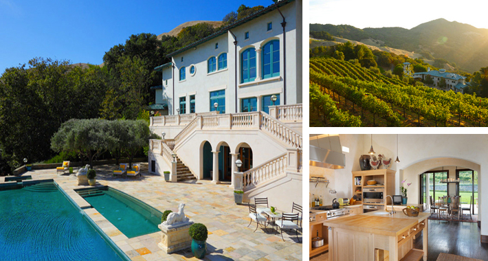 Robin Williams Houses celeb digs - robin williams may have listed $30 million napa